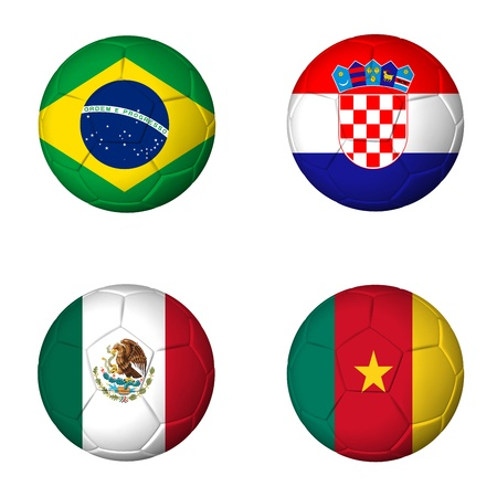 World Cup 2014 Listening Worksheet: Group A