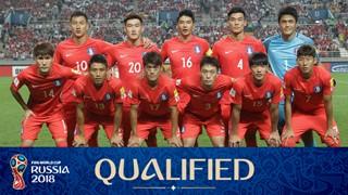 team photo for South Korea
