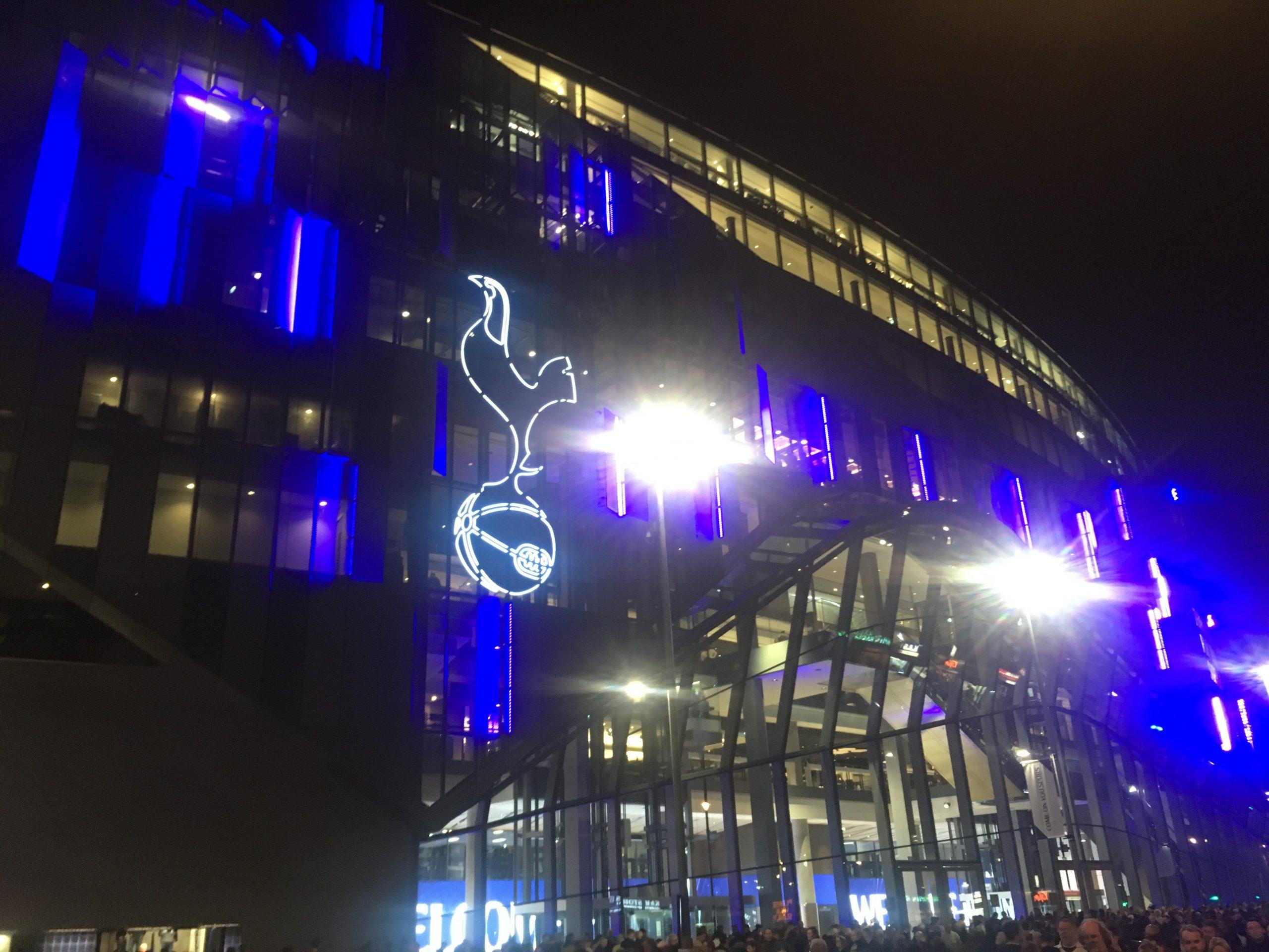 New Tottenham Stadium Welcome Home